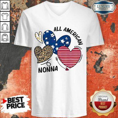 Love All American Nonna V-neck