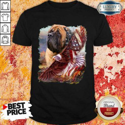 Mastiff American Eagle Patriot For Lover Shirt