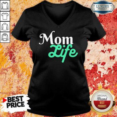 Mom Life V-neck