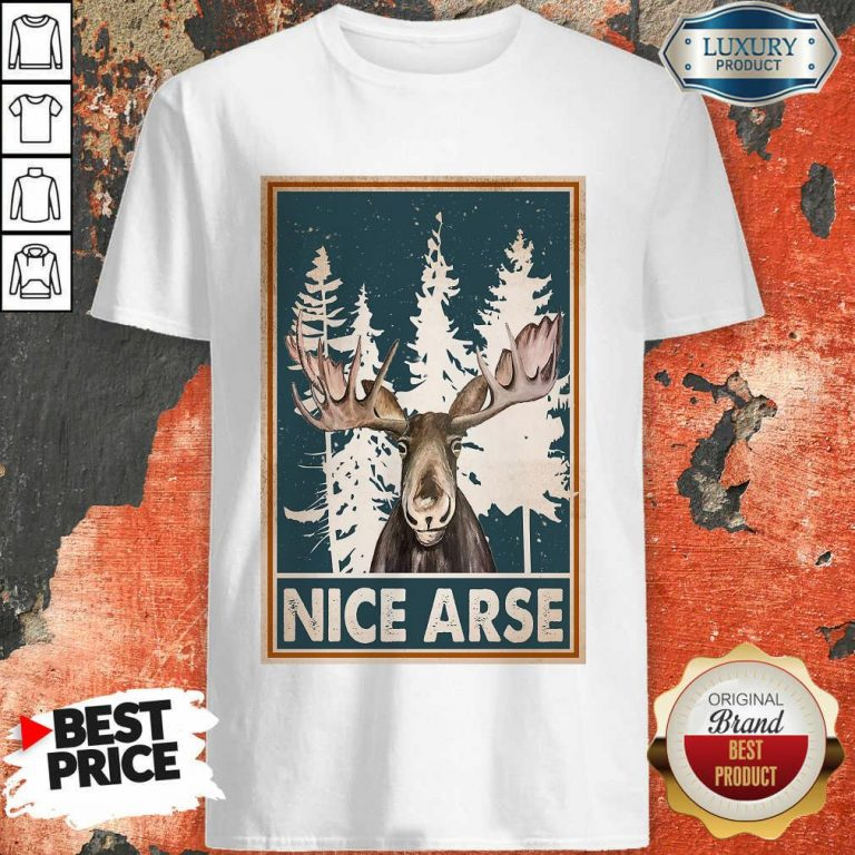 Moose Nice Arse Vertical Poster Shirt