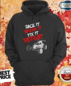 Race It Break It Repeat Hoodie
