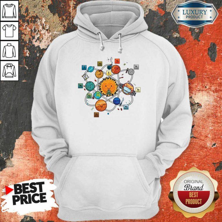 Solar System Chemistry Hoodie