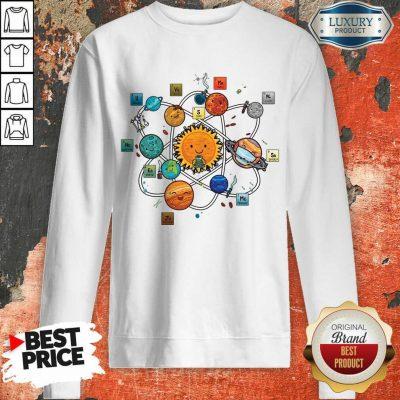 Solar System Chemistry Sweatshirt