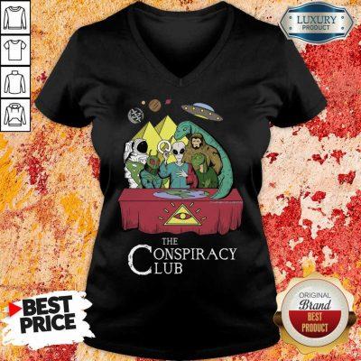 The Conspiracy Club V-neck