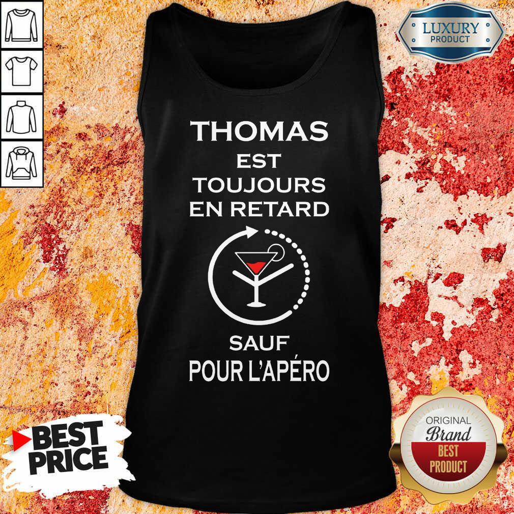 Thomas Sauf Pour L'apéro Tank Top