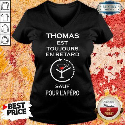 Thomas Sauf Pour L'apéro V-neck