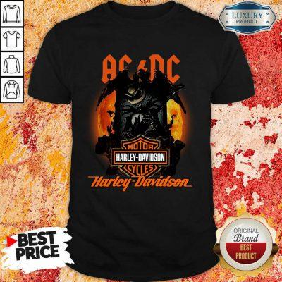 AC DC Motor Harley Davidson Cycles Shirt