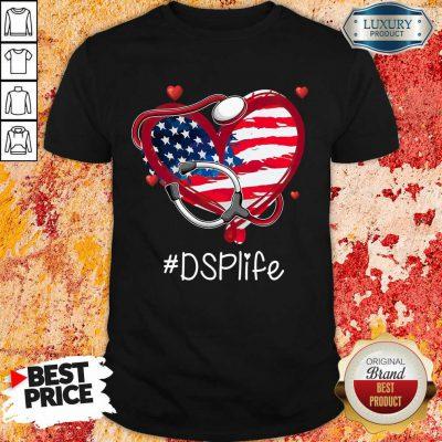 America Nurse Heart DSP Life Shirt
