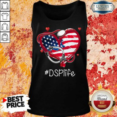 America Nurse Heart DSP Life Tank Top