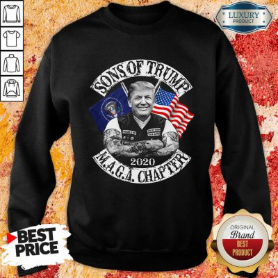 American Son Of Trump Maga Chapter Sweatshirt