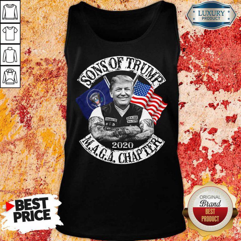 American Son Of Trump Maga Chapter Tank Top