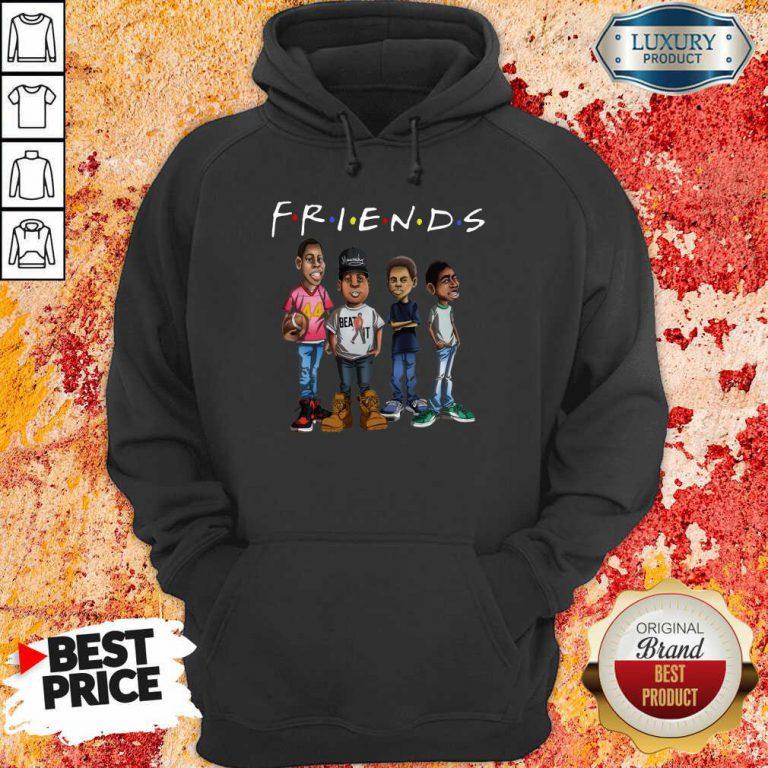 Friends Black Men Brother Hoodie