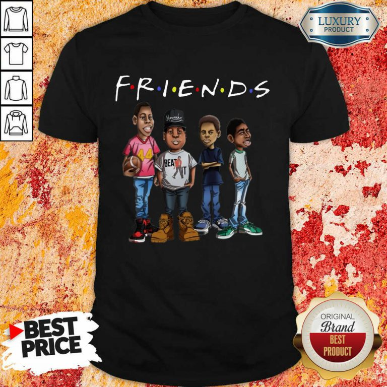 Friends Black Men Brother Shirt