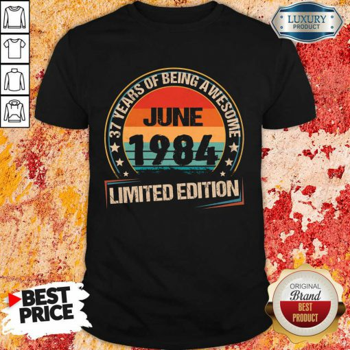 June 1984 Limited Edition Shirt