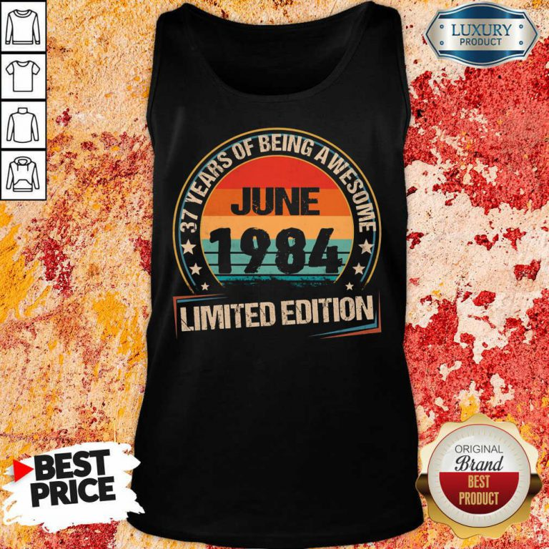 June 1984 Limited Edition Tank Top