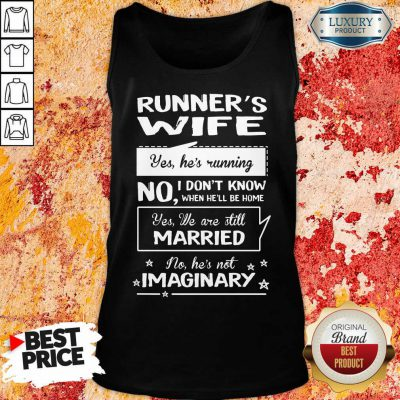 Runners Wife Married Imaginary Tank Top