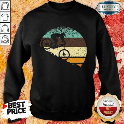 Vintage Mountain Bike Retro Sweatshirt
