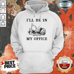 Witch I'll Be In My Office Hoodie