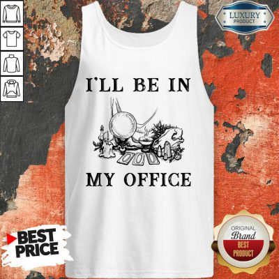 Witch I'll Be In My Office Tank Top